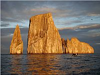 Kicker Rock at Sunrise