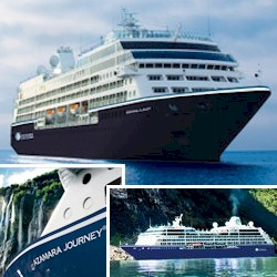 Azamara Journey cruise ship - deluxe intimate sailing