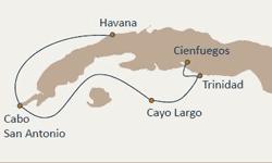 Brand g Vacations Cuba Cruise Itinerary