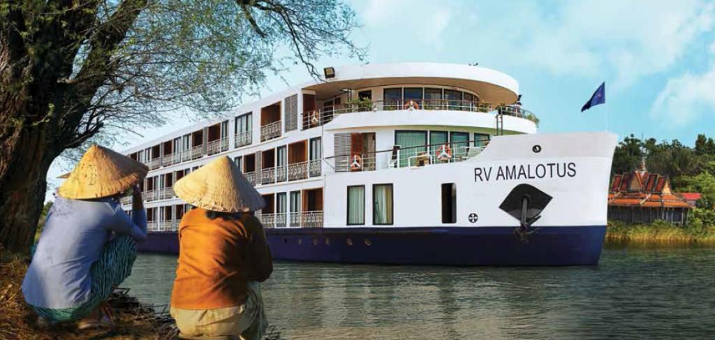 Mekong River cruise on AmaWaterways