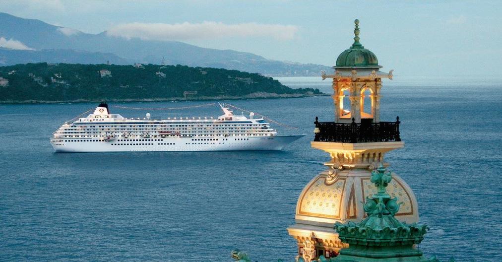 Crystal Symphony Monte Carlo Cruise