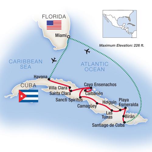Tauck Cuba Itinerary - image Tauck
