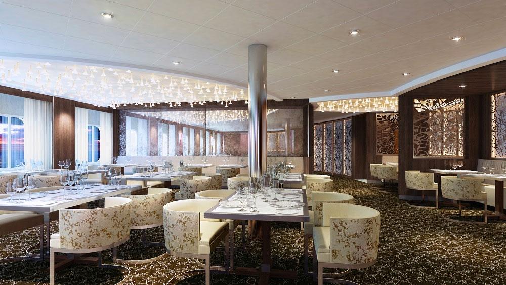 Celebrity Cruises Luminae Restaurant