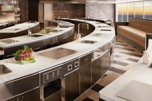 Seven Seas Explorer Culinary Arts Kitchen