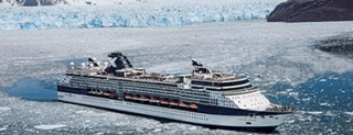 Celebrity Millennium in Alaska