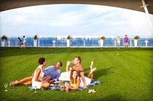 Celebrity Cruises Lawn Club