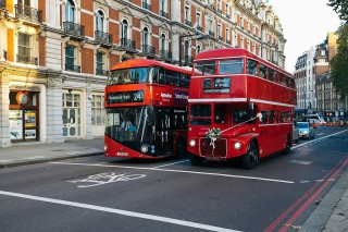 London England Red Buses
