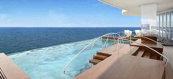 Seven Seas Explorer Infinity Plunge Pool