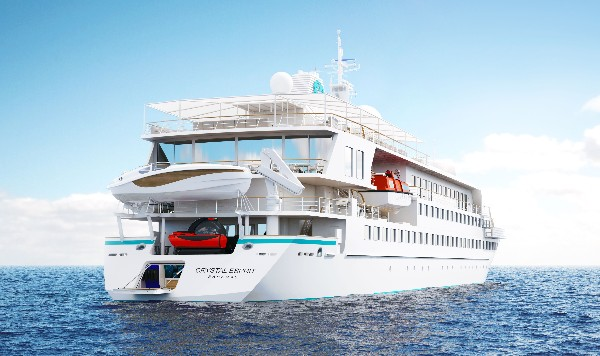 Crystal Esprit Yacht from Crystal Cruises