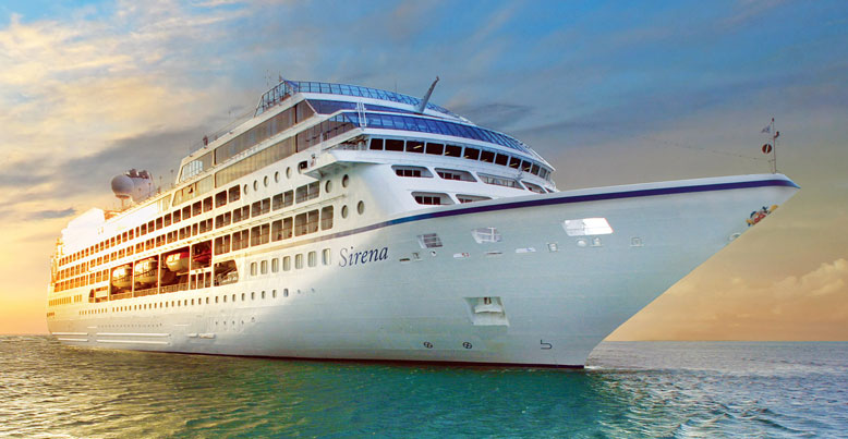 Oceania Sirena luxury cruise ship