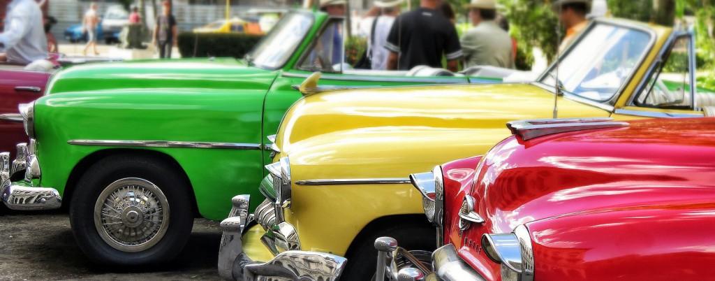 Vintage cars of Cuba