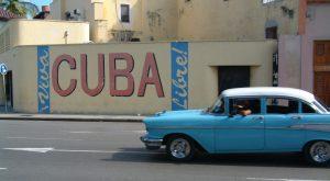 Havana Cuba vintage car