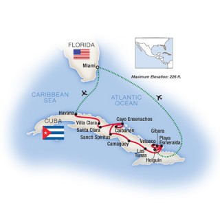 Tauck Cuba 13 day Cultural Odyssey