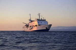 M/V Eclipse in Galapagos Islands