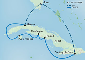 A&K-Cuba-Land-Sea-Cruise-map
