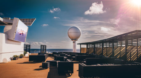 Rooftop Terrace, Celebrity Millennium