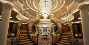 Seven Seas Explorer Grand Staircase