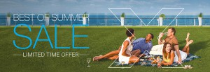 Celebrity Cruises Best of Summer Savings offer