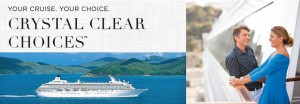 Crystal Cruises Crystal Clear Choices Offer