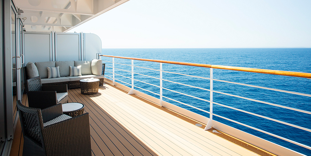 10 reasons why seven seas explorer is the world s most for What does balcony mean