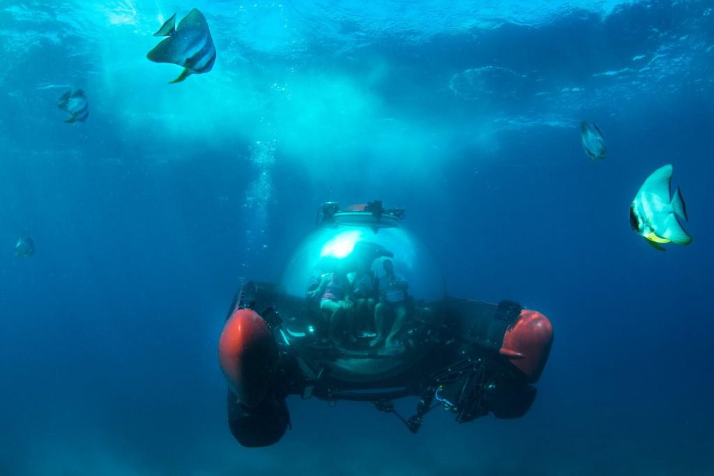 Crystal Esprit deep-sea submersible
