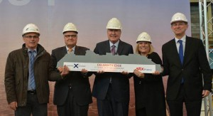 Steel cutting ceremony for Celebrity Edge