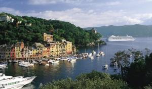 Crystal Symphony cruise. Portofino, Italy