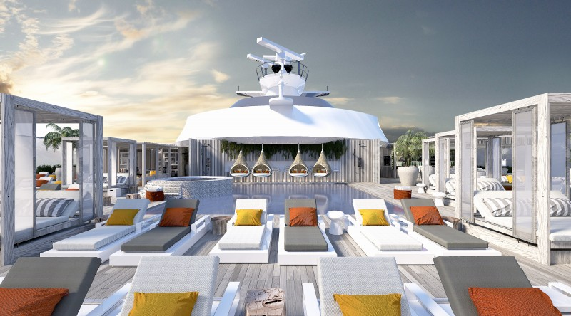 Celebrity Edge Retreat Sun Deck