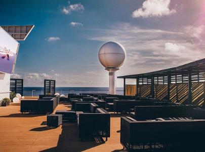 Celebrity Constellation Rooftop Terrace