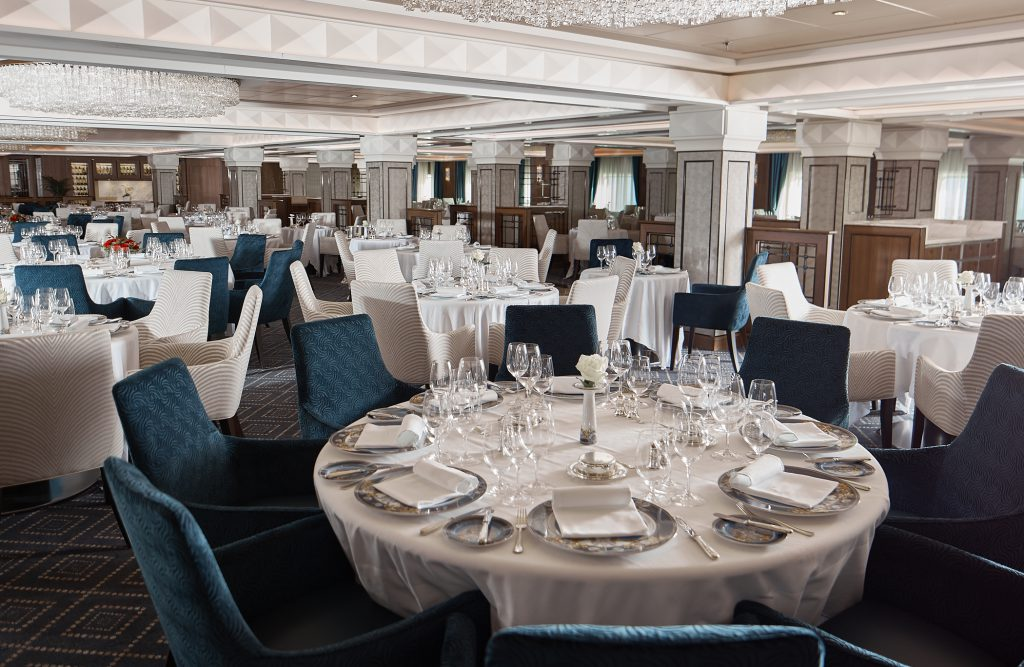Seven Seas Voyager Compass Rose restaurant
