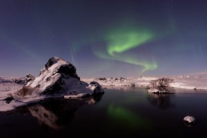 Northern Lights, Myvatn, Iceland