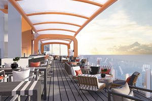 Dinner on the Edge - Magic Carpet on Celebrity Edge