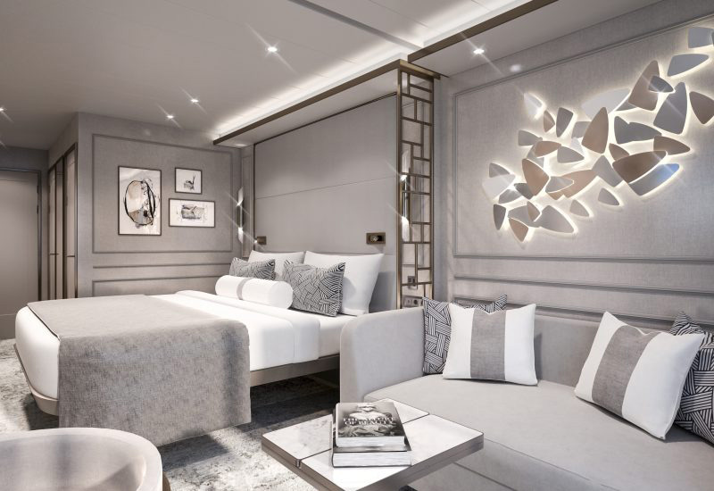 Crystal Cruises Crystal Endeavor Deluxe Suite