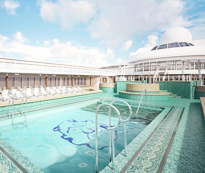 Seven Seas Mariner Pool Deck