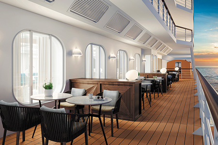 Regent Seven Seas Cruises Coffee Connection