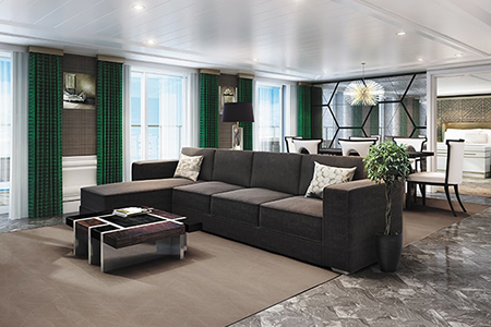 Regent Seven Seas Grand Suite