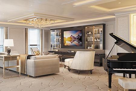 Regent Seven Seas Cruises Regent Suite