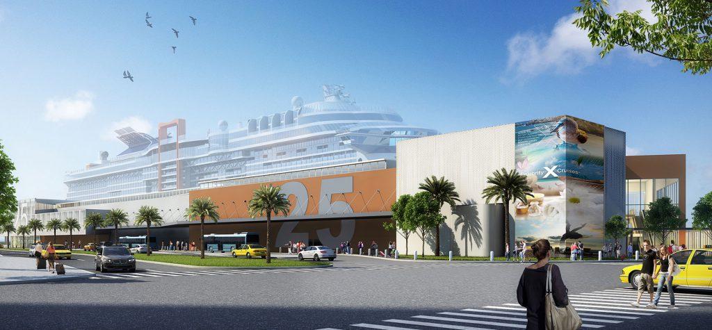 Celebrity Cruises New Terminal, Florida
