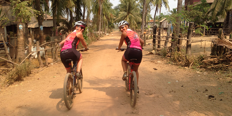Bike tour in Cambodia
