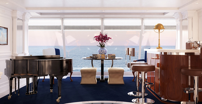 Oceania Marina & Riviera Owners Suite - Foyer
