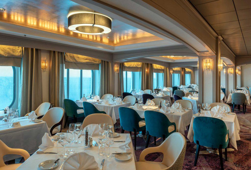 Crystal Serenity Waterside Restaurant