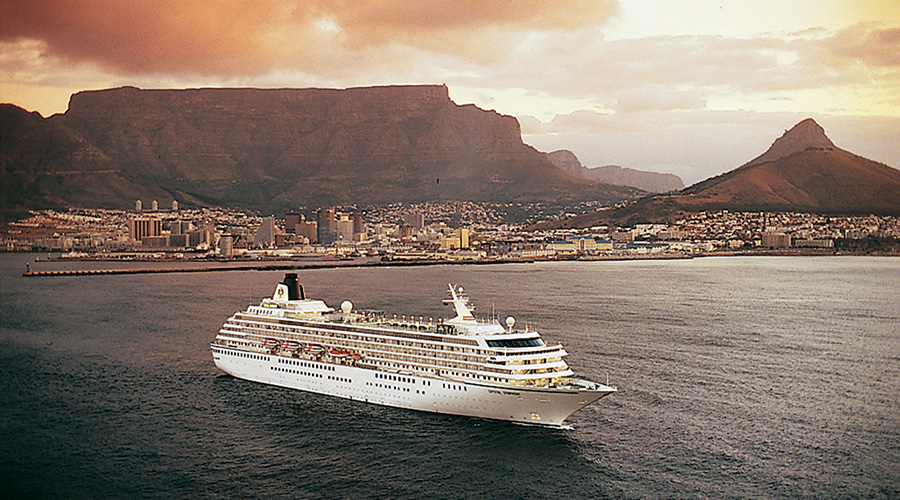 Crystal Symphony, Cape Town, South Africa