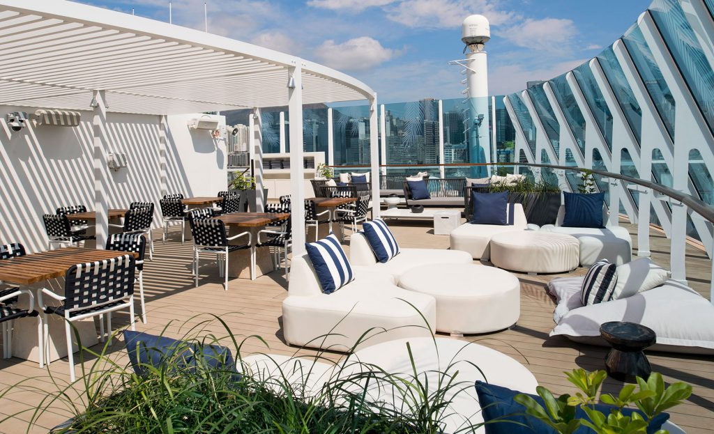 Celebrity Millennium Retreat Sundeck