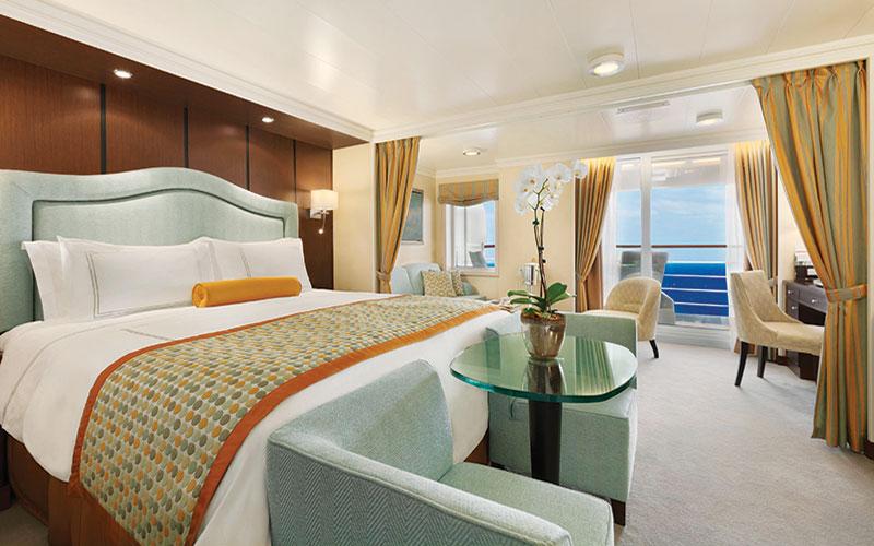 Oceania Riviera, Marina Penthouse Suite