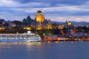 Crystal Symphony - Quebec, Canada
