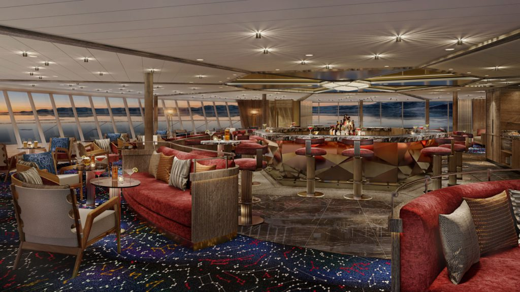 Seabourn Venture Constellation Lounge