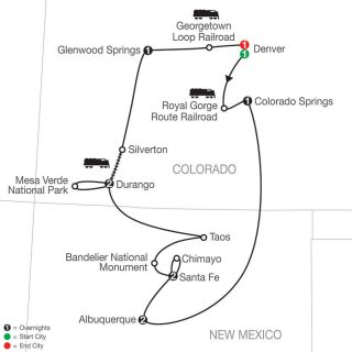 Historic Trains of the Old West & Albuquerque Balloon Fiesta | Globus Tours