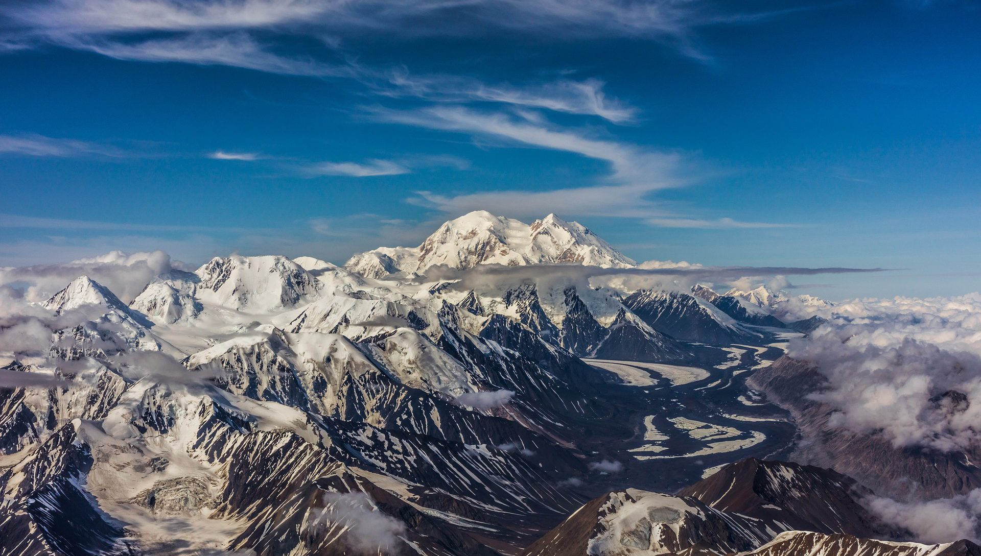 Denali National Park aerial view