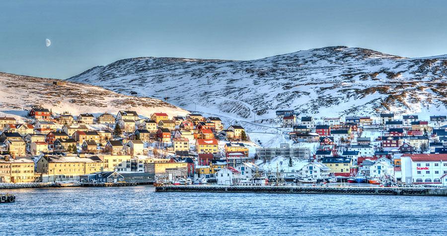 Honningsvag, Norway