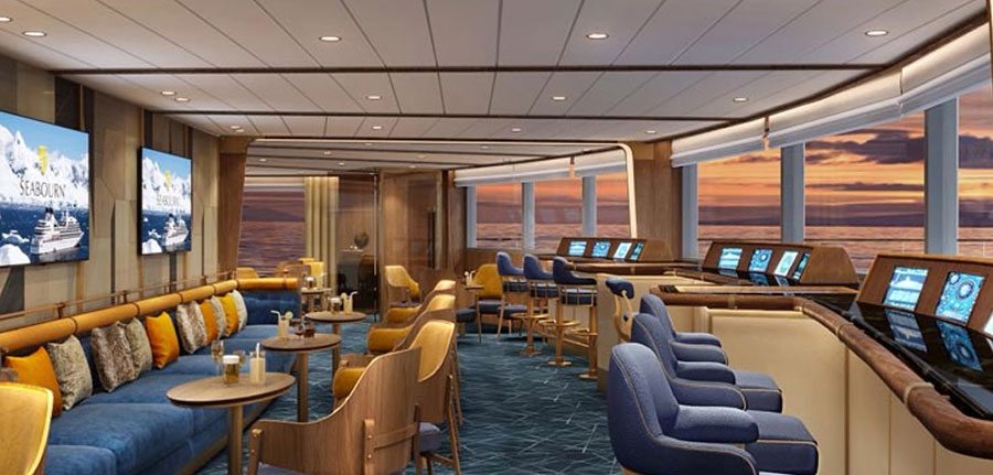 Bow Lounge, Seabourn Venture